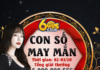 [EVENT 23]   CON SỐ MAY MẮN